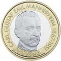 5 евро 2017 Финляндия, Карл Густав Эмиль Маннергейм