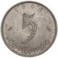 5 сантимов 1964 Франция, из обращения