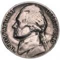5 центов 1940 США, S, из обращения