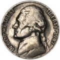 5 центов 1947 США, S, из обращения