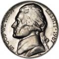 5 центов 1967 США, P