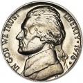 5 центов 1976 США, D