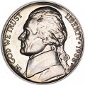 Nickel five cents 1988 US, D