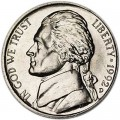 5 cents (Nickel) 1992 USA, D