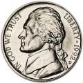 5 центов 1992 США, D