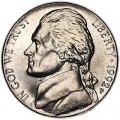 5 центов 1992 США, P