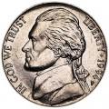 5 центов 1994 США, P