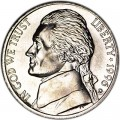 Nickel five cents 1996 US, D