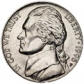 5 cents (Nickel) 1996 USA, P