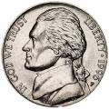 5 центов 1996 США, P