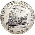 5 cents 2004 USA Keelboat, Westward Journey Series, mint P