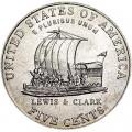 5 центов 2004 США Корабль, двор P