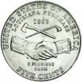 5 центов 2004 США Покупка Луизианы, двор P