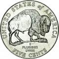 5 центов 2005 США Бизон, двор D