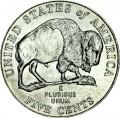 5 cents 2005 USA Buffalo, mint mark P