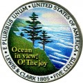5 cents 2005 USA Ocean in View, Westward Journey Series (colorized)