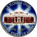 5 центов 2006 США Mounticello (цветная)