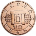 5 центов 2008 Мальта, UNC