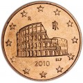 5 цента 2010 Италия, UNC