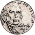 5 центов 2012 США, D