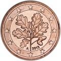 5 центов 2013 Германия A, UNC