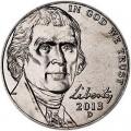 5 центов 2013 США, D