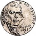 5 центов 2013 США, P