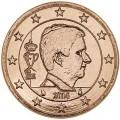 5 Cent 2014 Belgien UNC