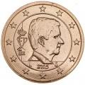 5 Cent 2015 Belgien UNC
