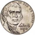 5 центов 2015 США, D