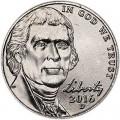 5 центов 2016 США, D