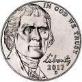 5 центов 2017 США, D