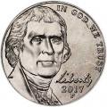 5 центов 2017 США, P