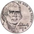 5 центов 2018 США, D