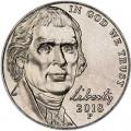 5 центов 2018 США, P