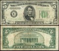 5 долларов 1934 C США (E - Ричмонд), банкнота, VF-VG