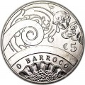 5 евро 2018 Португалия, Барокко