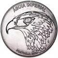 5 евро 2018 Португалия, Императорский орёл