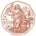 5 евро 2019 Австрия, Жизнерадостность