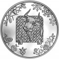 5 hryvnia 2020 Ukraine Year of the Ox