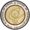 5 гривен 2009 Украина, 60 лет Совету Европы
