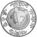 5 hryvnia 2020 Ukraine Year of the rat