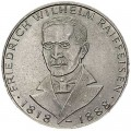 5 марок 1968, Фридрих Вильгельм Райффайзен, серебро