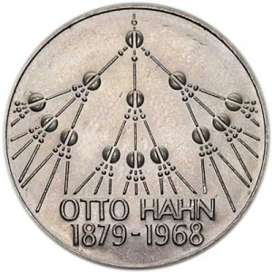 5 marks 1979 Germany Otto Hahn