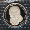 5 марок 1981 Германия, Карл фом Штейн, proof