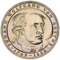 5 марок 1982 Германия, Иоганн Вольфганг фон Гёте
