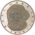 5 марок 1983 Германия, Карл Маркс