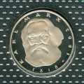 5 mark 1983 Germany Karl Marx proof