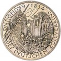 5 mark 1984 Germany 150 years of education of the German customs union
