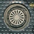 5 марок 1985 Германия, 150 лет железной дороге Германии, proof